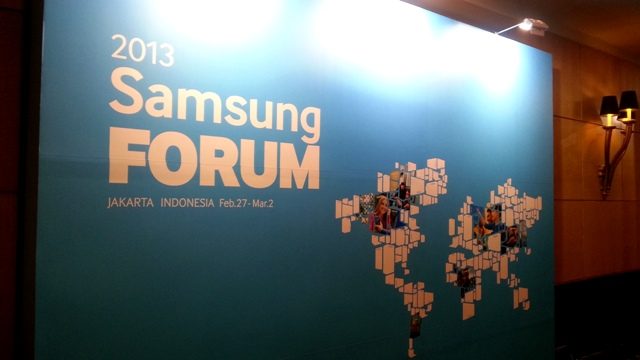 South East Asia - Samsung Forum 2013